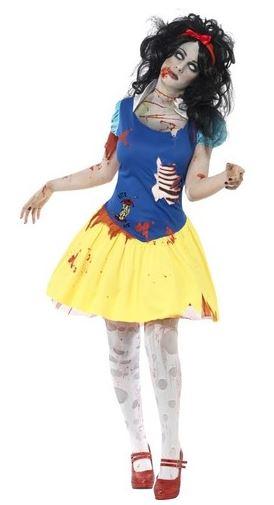 disfraz halloween princesa nieves zombie