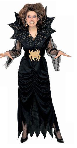 disfraz reina de las arañas halloween
