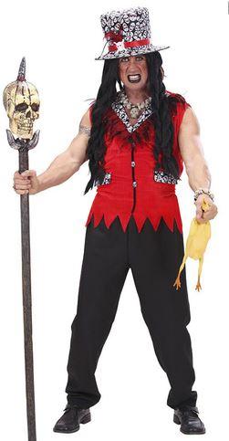 disfraz halloween sacerdote vudu