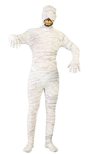 disfraz de momia sonriente halloween
