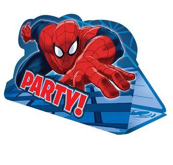 invitaciones-de-spiderman