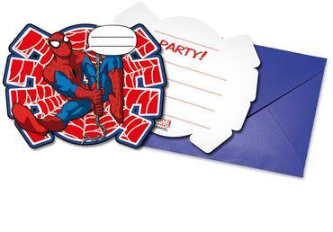 invitaciones-ultimate-spiderman-power