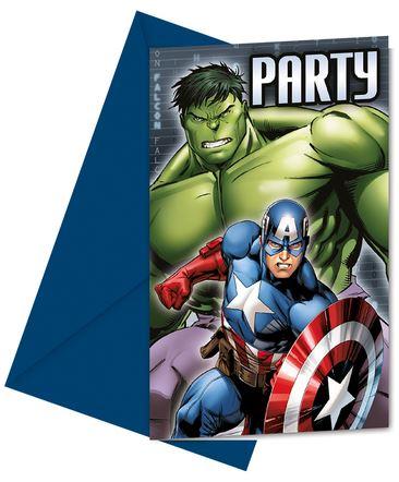 invitaciones-vengadores-power