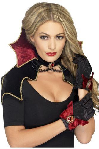 kit disfraz vampiresa halloween