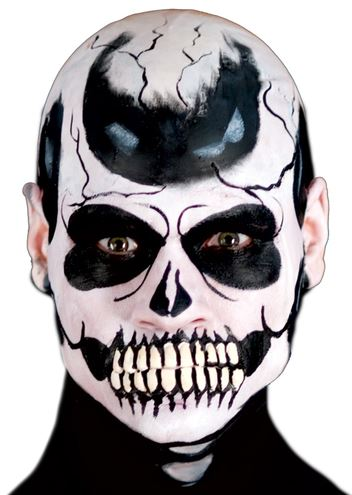 mandíbula esqueleto tetrico