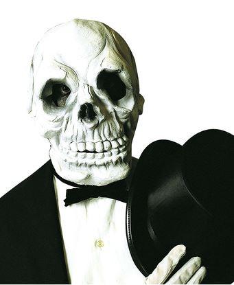 mascara calavera espeluznante halloween