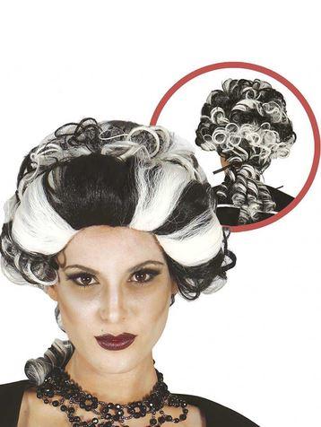 peluca marquesa vampiro halloween