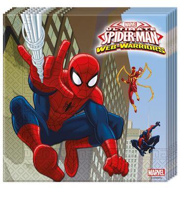 servilletas-spiderman