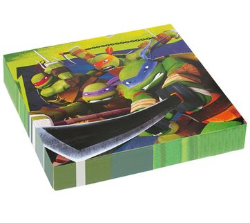 servilletas-tortugas-ninja