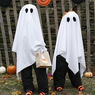 disfraz diy fantasma halloween