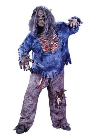 disfraz halloween monstruo zombie