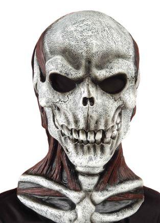 mascara calavera asesina halloween