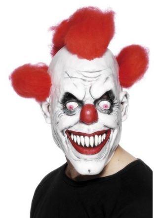 mascara payaso endemoniado halloween