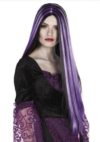 peluca halloween bruja
