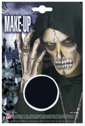 pintura negra halloween
