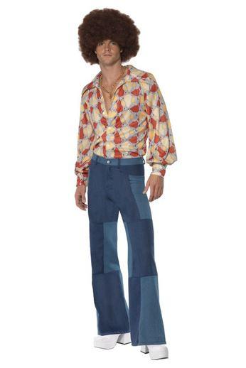 disfraz retro anos 70