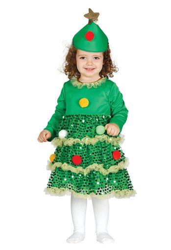 disfraz arbol navidad bebe
