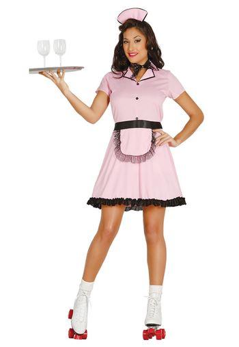 disfraz camarera retro