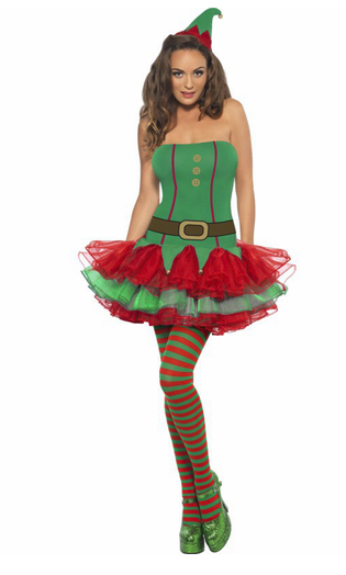 disfraz elfa