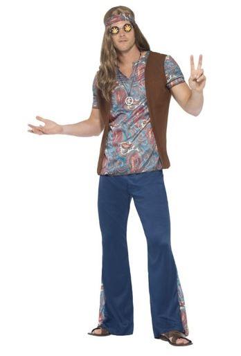 disfraz hippie festivalero