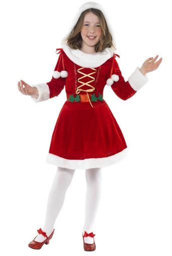 disfraz miss santa