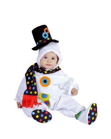 disfraz muneco nieve bebe