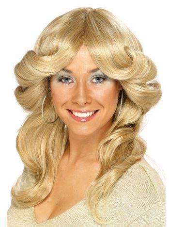 peluca anos 70