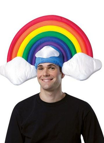 sombrero arcoiris