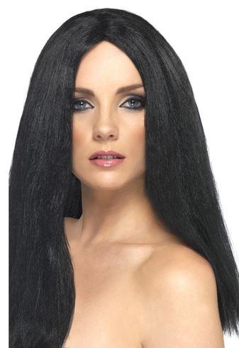 peluca negra