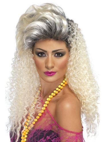 peluca rubia 80
