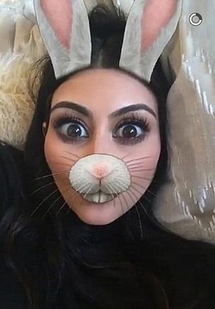 snapchat conejo