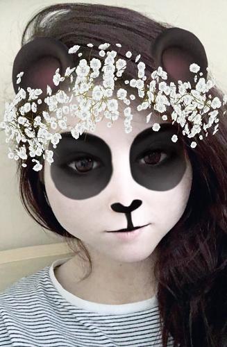 snapchat panda