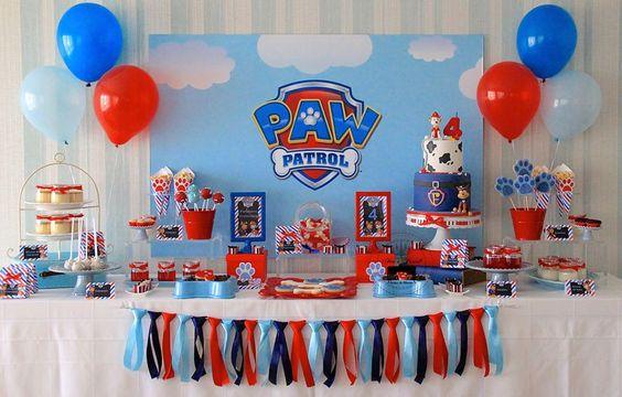 candy bar patrulla canina