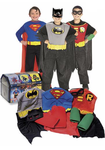 cofre disfraces superheroes