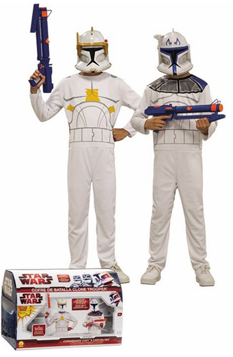 disfraces clone troopers caja