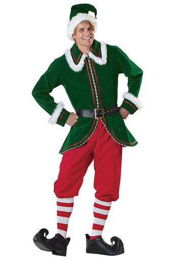 disfraz elfo deluxe