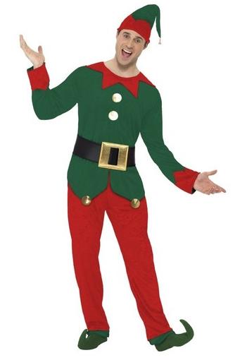 disfraz elfo divertido hombre