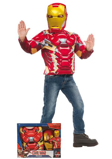 disfraz iron man caja