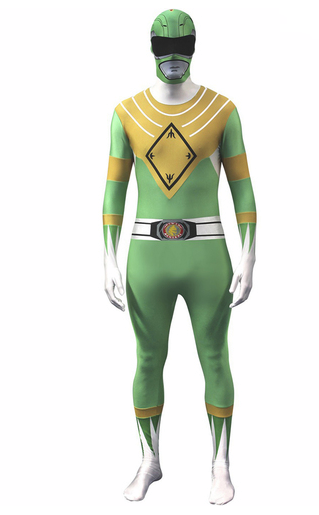 disfraz power ranger verde