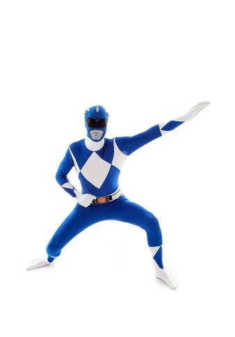disfraz power ranger azul