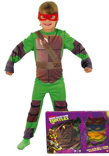 disfraz torugas ninja caja