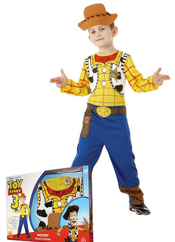 disfraz woody caja