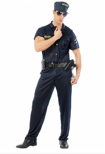 disfraz agente policia