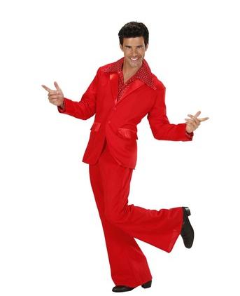 disfraz disco rojo