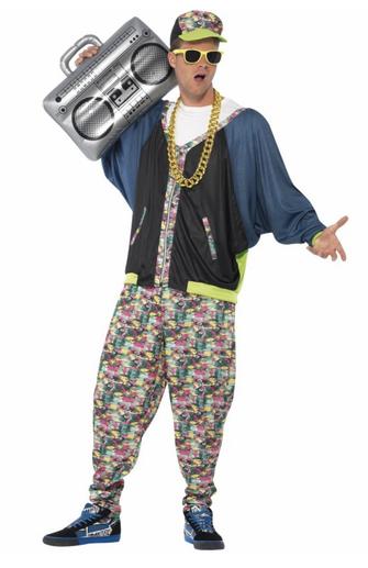 disfraz hip hop hombre