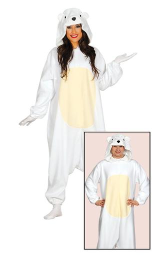 disfraz oso polar onesie