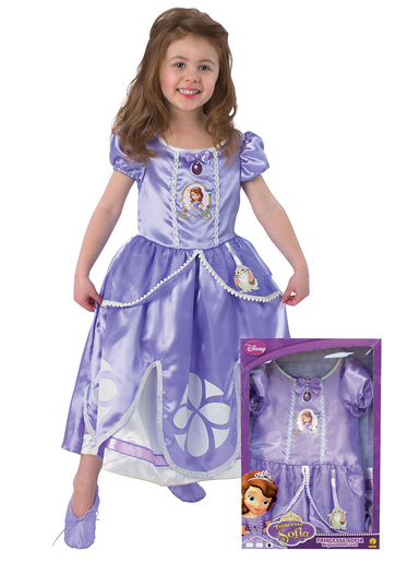 disfraz princesa sofia caja