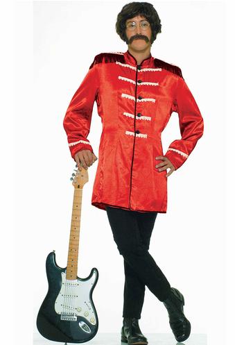 disfraz rojo rock