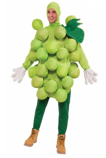 disfraz uvas verdes