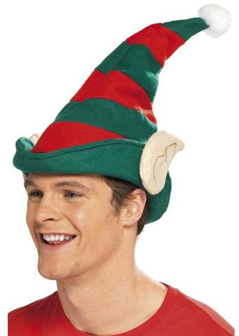 gorro elfo verde